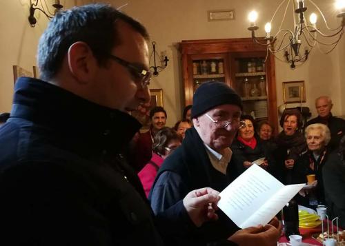 4°anniversario Don Davide e compleanno Don Valeriano