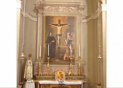 Altare minore Crocifissione