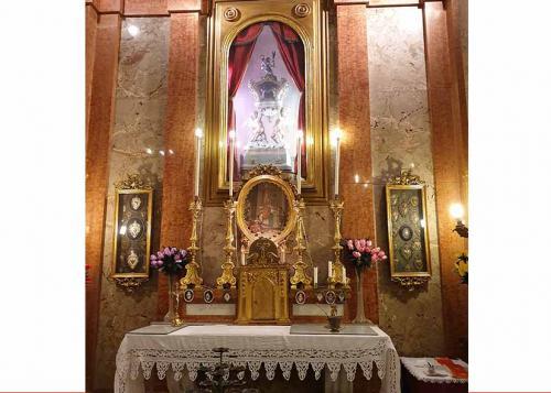 Altare minore S Valentino