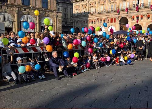 Benedizione dei bimbi alla Madonna di San Luca 2017