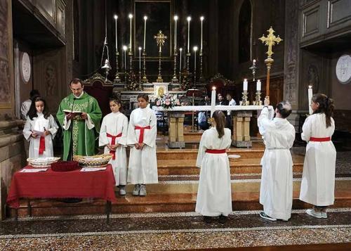 Benedizione croci di S. Valentino