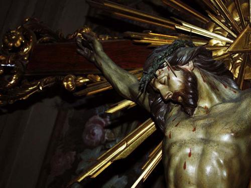 Crocifisso venerato nella chiesa della Carità