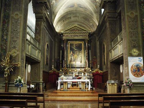Presbiterio di S Maria della Carità