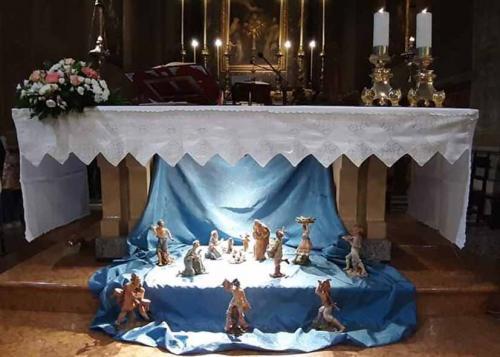 Presepe altare maggiore